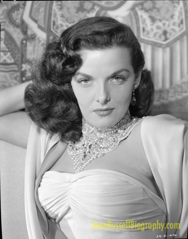 Jane Russell portrait from Macao